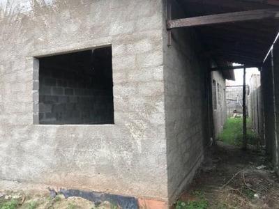 Casa Geminada - Semi Acabada (40mil + Parc)