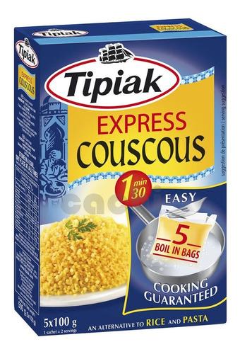 Cous Cous Tipiak Express 500gr 5 Bolsitas