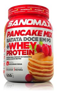 Pancake Mix 600g - Sanomax Batata Doce Em Pó + Whey Protein