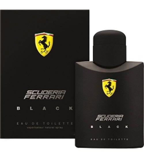 Perfume Colonia Ferrari Black 125 Ml Lacrado