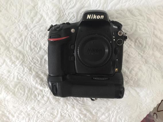 Baixei! Nikon D800 + Grip + 2 Baterias Originais