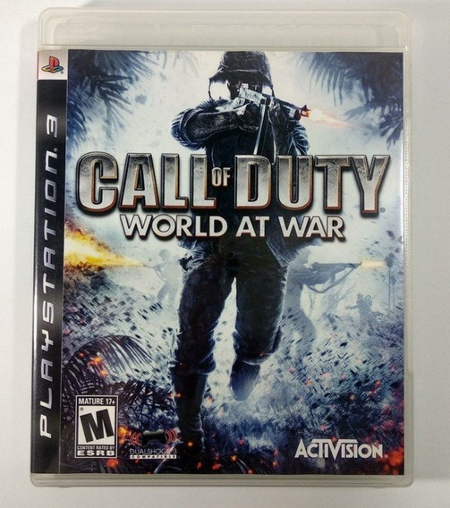 Call Of Duty World At War (mídia Física) - Ps3