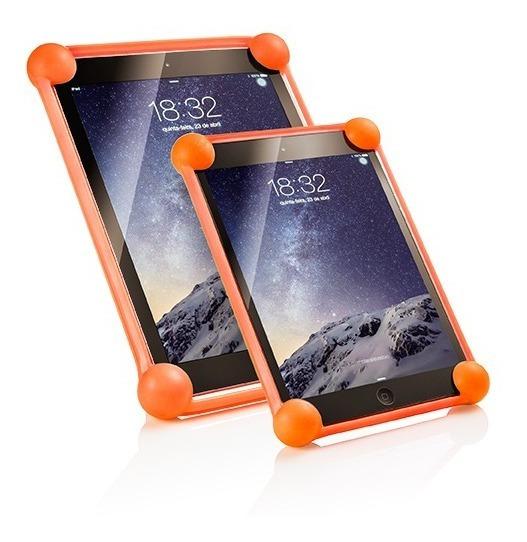 Capa Bumper 360 Banba Tablet 9 A 11 Laranja - Universal