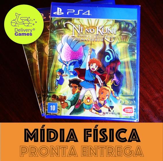 Ni No Kuni 1 Remastered Ps4 Mídia Física Lacrado + N. Fiscal