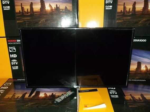 Televisor Smart Tv 32 Pulgada Kodak Más Base Fija De Pared