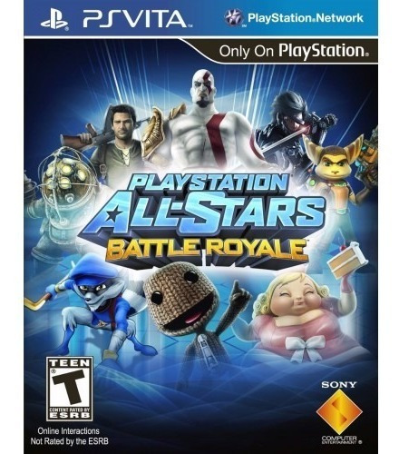 Jogo Playstation All Stars Battle Royale - Ps Vita Usado