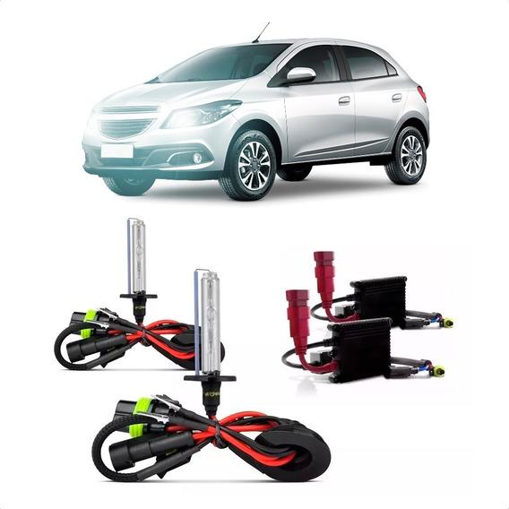 Kit Xenon Hid Carro 12v 6000k 8000k 10000k Top De Linha