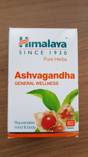 Ashwagandha 250mg - Anti Stress E Rejuvenecedor Ayurvédico