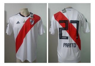 Camisa River Plate Final Libertadores 2018 Pratto 27 Oficial