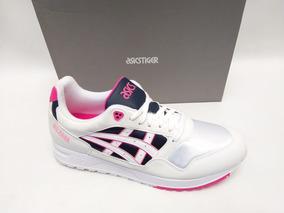 Tênis Asics Tiger Gel Saga Off White Rosa Sneaker Original