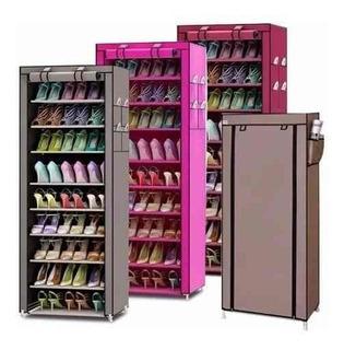 Zapatero Organizador De Zapatos 9 Pisos 60 Calzados 34381