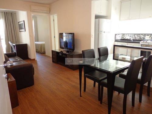 Flat 1 Dormitório Para Alugar, 45 M² Por R$ 4.100/mês - Itaim Bibi - São Paulo/sp - Fl4860