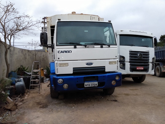 Ford Cargo 1722e 70 Mil A Vista No Chassi Ano 2010