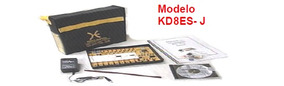 Kit Com Placa Didatico Eletronica E Mecatronica Kd-08es Jr