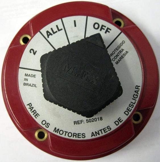 Chave Geral 1 Ou 2 Baterias Até 360 Amp - Náutica