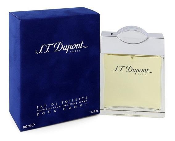 Perfume S.t Dupont Pour Homme Masculino 100ml Edt - Original