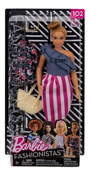 Barbie Fashionista Roupas E Acessorios Look Modelo 102 Fjf67
