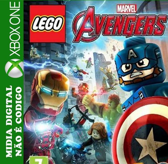 Lego Marvel Vingadores Xbox One Mídia Digital