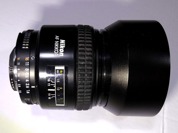 Lente Nikon 85mm 1.8d