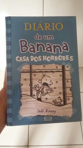 Livro Diario De Um Banana 6 ( Casa Dos Horrores )