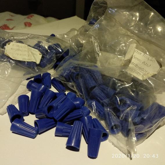 Conector Torção Azul Fio 0.8 Mm Até 4,5 - 250 Unidades