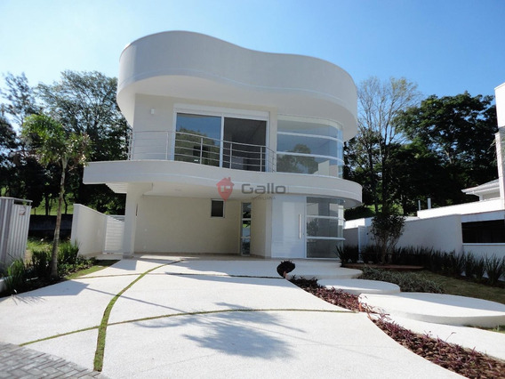 Casa À Venda Em Condomínio Reserva Colonial - Ca005125