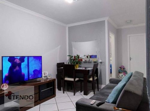Imagem 1 de 16 de Apartamento Com 2 Dormitórios À Venda, 52 M² Por R$ 207.000,00 - Campanário - Diadema/sp - Ap3066
