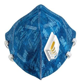 Kit 50 Mascara Semifacial Respirador Valv 9812 3m Pff-1 Nota