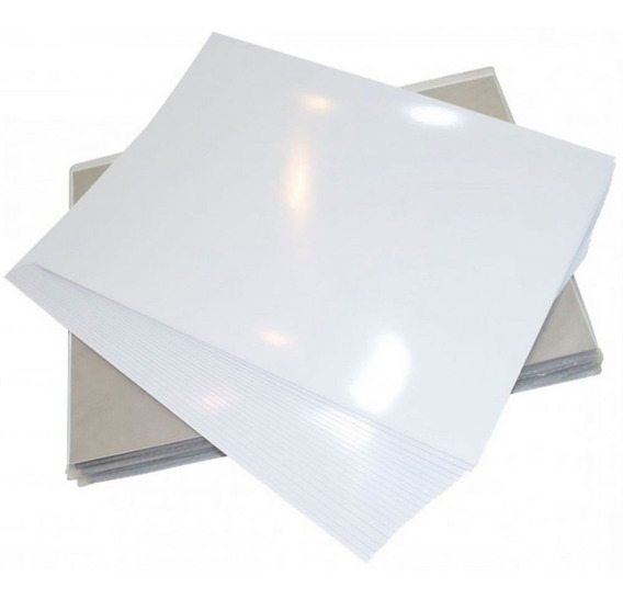 Papel Fotográfico A4 180g Glossy Branco 50 Folhas Premium