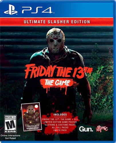 Imagen 1 de 4 de Friday The 13th:ultimate Slasher Edition Ps4 / Mipowerdstiny