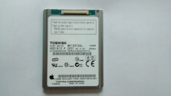 Hdd Toshiba Mk1231gal 120gb iPod Notebook Laptop