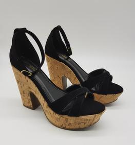 65ef24882 Sandalia Plataforma Preta Arezzo - Sapatos no Mercado Livre Brasil