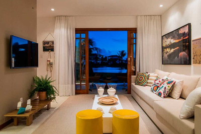 Village Das Acacias 2 Ou 3 Suites 92.42m2/111.81m2 Na Praia Do Forte - Uni167 - 31905494