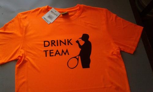 Imagen 1 de 10 de Camisetas Dry  Personalizadas