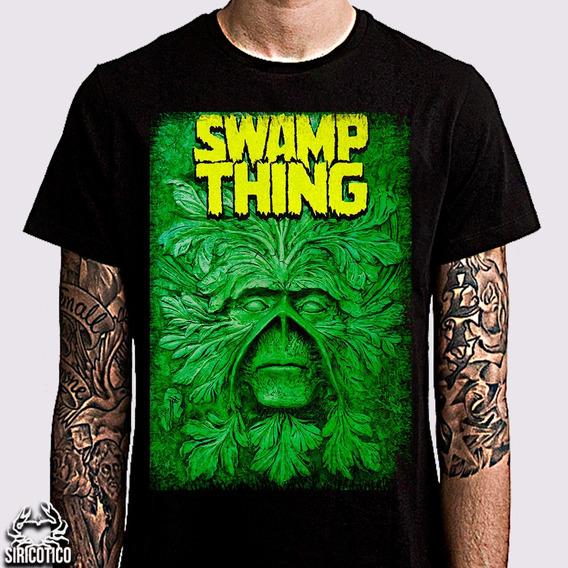 Camiseta Swamp Thing Saga,saga Monstro Do Pântano,vertigo