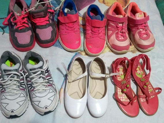 Lote De Calçados Infantis