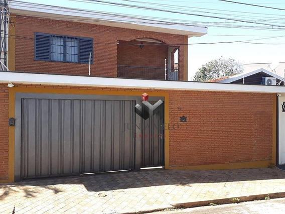 Sobrado Com 3 Dormitórios À Venda, 218 M² Por R$ 2.100 - Sumarezinho - Ribeirão Preto/sp - So0151