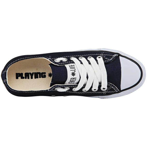 Tenis Casuales Marca Playing 01 Rj Ng Bl Az Dog