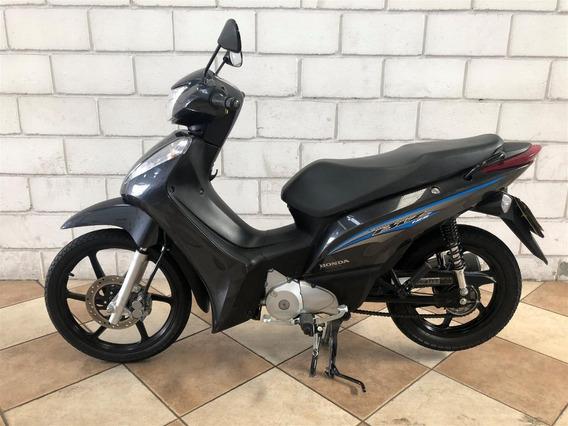 Honda Biz 125 2017 Preta Whast 119.3310-9280