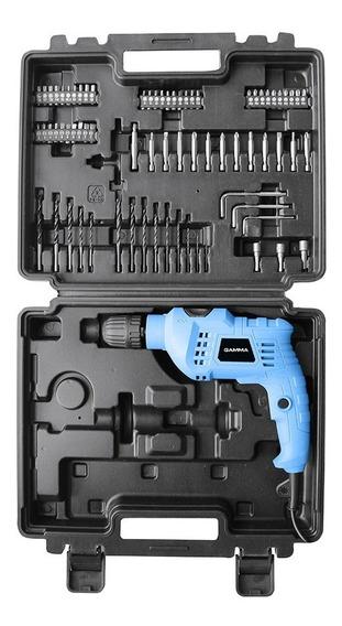 Taladro Percutor 650 W En Kit 10mm Gamma G1905kar