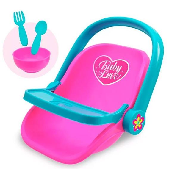 Bebe Conforto Baby Love Alive Rosa - Usual Brinquedos