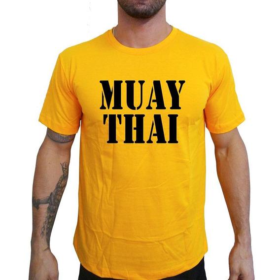 Camiseta Mma Shop Muay Thai