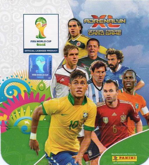 400 Cards Adrenalyn Xl Da Copa De 2014