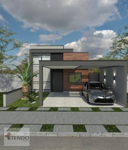 Imagem 1 de 15 de Casa Com 3 Dormitórios À Venda, 115 M² Por R$ 640.000 - Jardim Park Real - Indaiatuba/sp - Ca0587