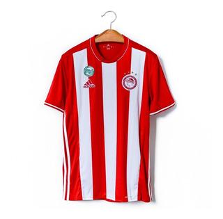Camisa De Futebol Masculino Olympiakos adidas 2016/17