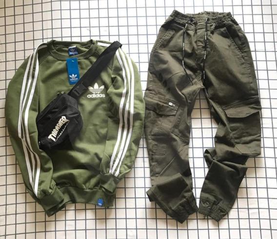 Pantalones Cargo Joggers Hombre - Mujer