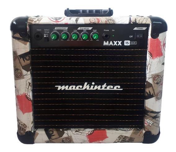 Cubo Amplificador Guitarra Maxx10 Musicway Preto