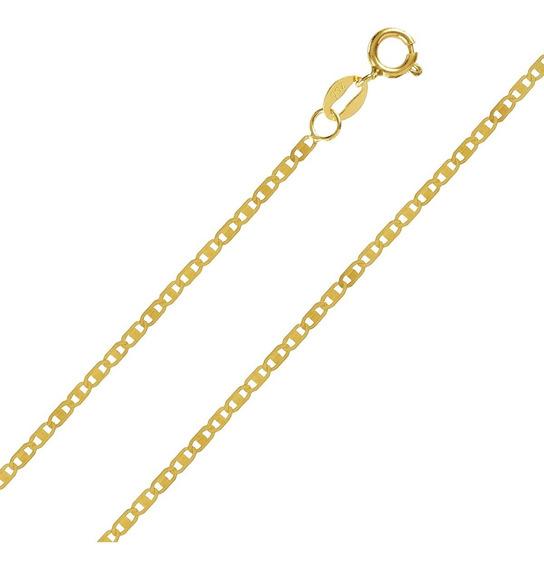 Corrente Cordão Masculina Ouro 18k Piastrine 60cm