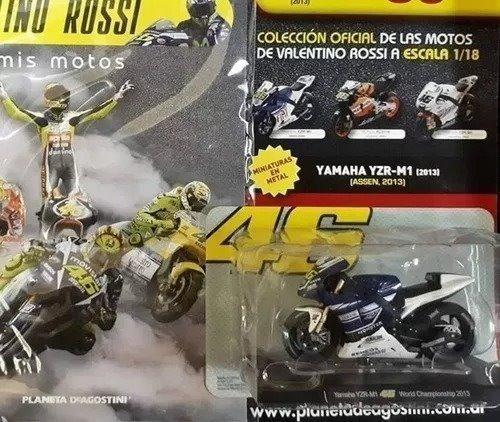 Coleccion Valentino Rossi 1/18 Numero 1 Planeta No Salvat Cu