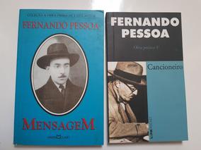 Lote Livro Mensagem E Cancioneiro De Fernando Pessoa